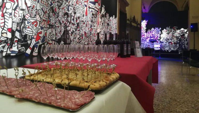 Palazzo Magnani_Jean Dubuffet_aperitivo